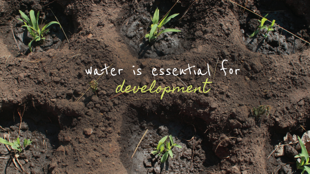 Water is Essential For Development