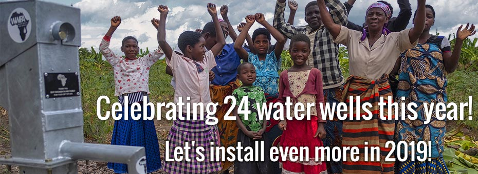 Celebrating 24 Water Wells in 2018