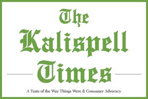 The Kalispell Times banner